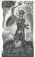 EX LIBRIS FERNAND HEITZ (odkaz v elektronickém katalogu)