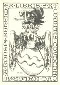 EX LIBRIS S.R.I.COMITIS COUDENHOVE-KALERGI (odkaz v elektronickém katalogu)