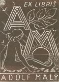 EX LIBRIS ADOLF MALÝ (odkaz v elektronickém katalogu)