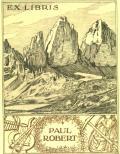 EX LIBRIS PAUL ROBERT (odkaz v elektronickém katalogu)