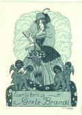 Wxlibris Grete Brandl (odkaz v elektronickém katalogu)
