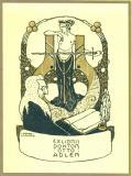 EXLIBRIS DOKTOR OTTO ADLER (odkaz v elektronickém katalogu)