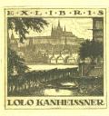 EXLIBRIS LOLO KANHEISSNER (odkaz v elektronickém katalogu)