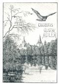 EXLIBRIS GUSTAV ADLER (odkaz v elektronickém katalogu)