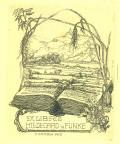 EX LIBRIS HILDEGARD v. FUNKE (odkaz v elektronickém katalogu)