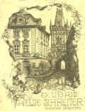 EX LIBRIS ELSE SCHREITER (odkaz v elektronickém katalogu)