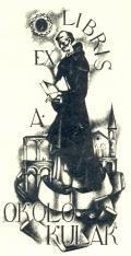EX LIBRIS A. OKOLO KULAK (odkaz v elektronickém katalogu)