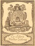 Ex-Libris Walter Gehrig (odkaz v elektronickém katalogu)
