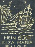 MEIN BUCH ELSA MARIA RUGE (odkaz v elektronickém katalogu)