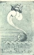 Exlibris Franz Slatner (odkaz v elektronickém katalogu)