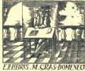 EX-LIBRIS M. GRAS-DOMENECH (odkaz v elektronickém katalogu)