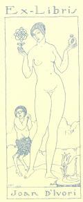 Ex-Libris Joan D´Ivori (odkaz v elektronickém katalogu)