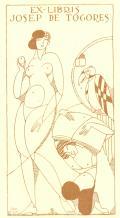 EX-LIBRIS JOSEP DE TOGORES (odkaz v elektronickém katalogu)