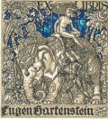 EX LIBRIS EUGEN HARTENSTEIN (odkaz v elektronickém katalogu)