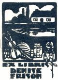 EX LIBRIS DENISE FRISON (odkaz v elektronickém katalogu)