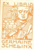 EX LIBRIS GERMAINE SCHELLINX (odkaz v elektronickém katalogu)