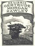 EX LIBRIS GERTRUDE MORGAN HAWLEY (odkaz v elektronickém katalogu)