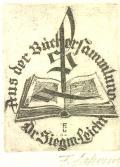 Aus der Bücher Sammlung Dr. Siegm. Leicht (odkaz v elektronickém katalogu)