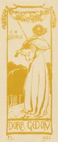 EX LIBRIS DORA GEDON (odkaz v elektronickém katalogu)