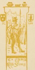 EX LIBRIS KARL STECHELE (odkaz v elektronickém katalogu)