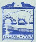 EX LIBRIS H. PAUR (odkaz v elektronickém katalogu)