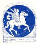 EX-LIBRIS MAX.J.METH (odkaz v elektronickém katalogu)