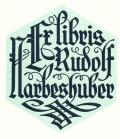 Ex libris Rudolf Marbeshuber (odkaz v elektronickém katalogu)