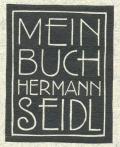 MEIN BUCH HERMANN SEIDL (odkaz v elektronickém katalogu)
