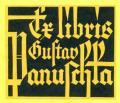 Ex libris Gustav Panuscha (odkaz v elektronickém katalogu)