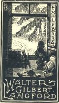 EX LIBRIS WALTER GILBERT ANGFORD (odkaz v elektronickém katalogu)