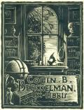 COLIN B. BERCKELMAN EX-LIBRIS (odkaz v elektronickém katalogu)