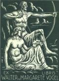 EX LIBRIS WALTER u. MARGARETE VOGEL (odkaz v elektronickém katalogu)