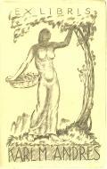 EX LIBRIS KARL M. ANDRES (odkaz v elektronickém katalogu)