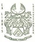 EX LIBRIS L.A. van KOEKENBERG (odkaz v elektronickém katalogu)