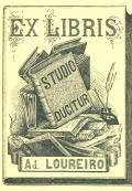 EX LIBRIS A. LOUREIRO (odkaz v elektronickém katalogu)