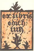 ex libris edith lutz (odkaz v elektronickém katalogu)