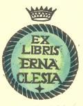 EX LIBRIS ERNA CLESIA (odkaz v elektronickém katalogu)