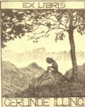EX LIBRIS GERLINDE ILLING (odkaz v elektronickém katalogu)