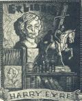 Ex libris HARRY EYRE (odkaz v elektronickém katalogu)