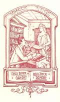 DIESES BUCH GEHÖRT WALTER DENEKE (odkaz v elektronickém katalogu)