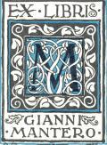 EX LIBRIS GIANNI MANTERO (odkaz v elektronickém katalogu)