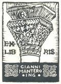 EX LIBRIS GIANNI MANTERO ING. (odkaz v elektronickém katalogu)