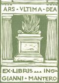 EX LIBRIS ING GIANNI MANTERO (odkaz v elektronickém katalogu)