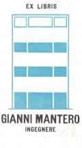 EX LIBRIS GIANNI MANTERO INGEGNERE (odkaz v elektronickém katalogu)