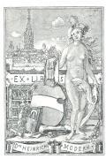 EX LIBRIS Dr. HEINRICH MODERN (odkaz v elektronickém katalogu)