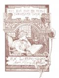 EX LIBRIS Azeglio Filippini (odkaz v elektronickém katalogu)