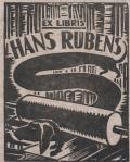 EX LIBRIS HANS RUBENS (odkaz v elektronickém katalogu)