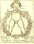 EX LIBRIS RUTH MICHAELS (odkaz v elektronickém katalogu)