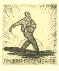EX LIBRIS FRITZ MERKER (odkaz v elektronickém katalogu)