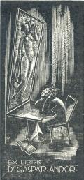 EX LIBRIS Dr. GÁSPÁR ANDOR (odkaz v elektronickém katalogu)